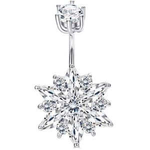 925 Silver Trendy Belly Ring